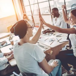 Bigstock  124034410 Young People Work In Modern Office